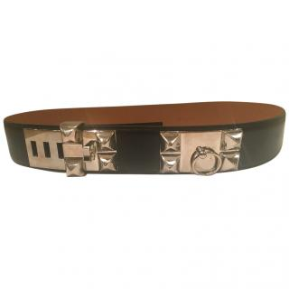 Hermes collier de chien ladies leather belt
