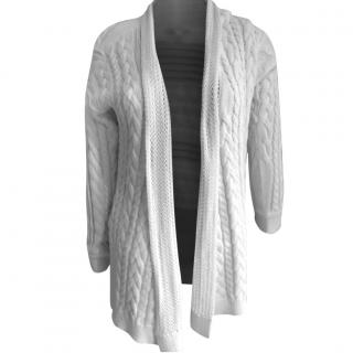 Autumn Cashmere white cardigan