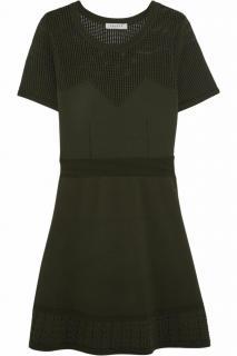 Sandro 'Rapsody' Open-Knit Panelled Dress