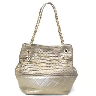 Chanel Pale Gold Shoulder Bag