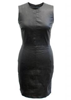 Plein Sud Black Leather Dress