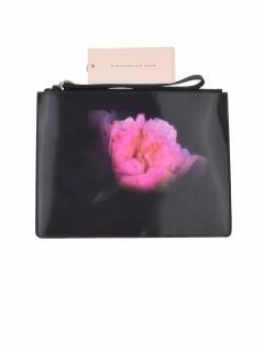 Christopher Kane Peony Lenticular Image Panel clutch