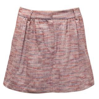 Paul & Joe Woven Mini Skirt