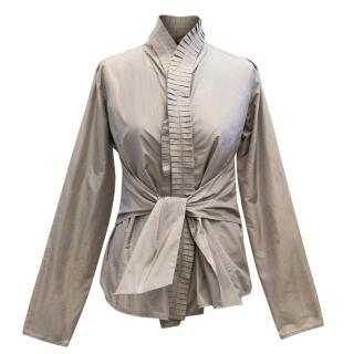 Etro Silk Belted Belted Blouse