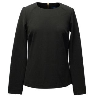 Safiyaa Black Structured Top