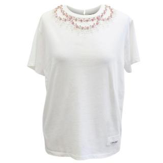 Miu Miu Jewelled T-shirt