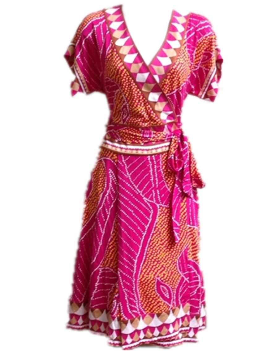 DIANE von FURSTENBERG Nalia Silk Jersey Dress