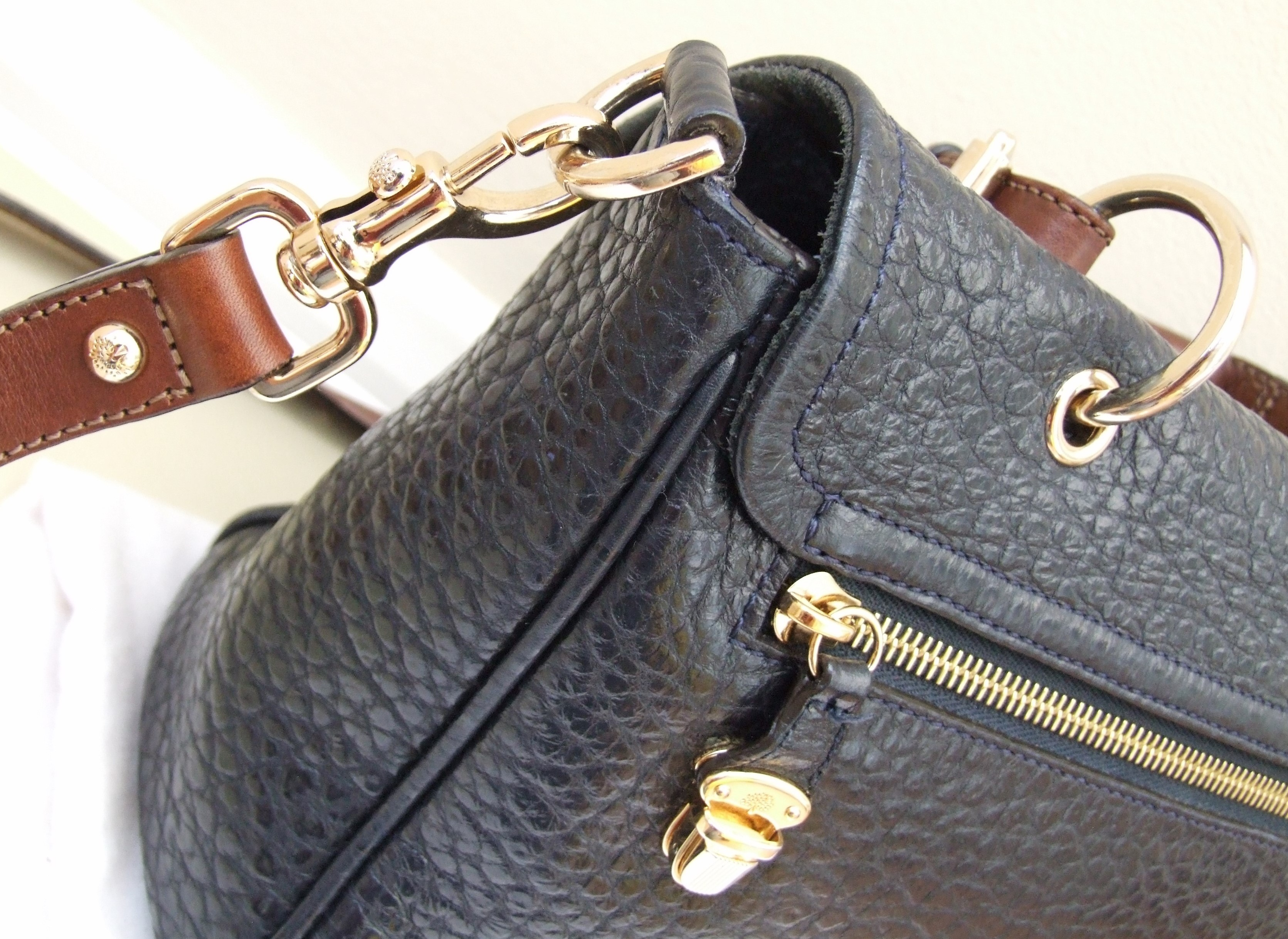 ... Mulberry Polly Push Lock Bag HEWI London cheaper a8973 46209 ... d735a6c2fb