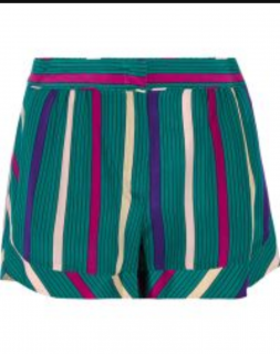 See By Chloe Silk Shorts