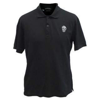 Alexander Mcqueen Black Polo Shirt