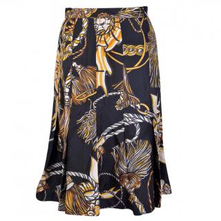 Moschino silk skirt