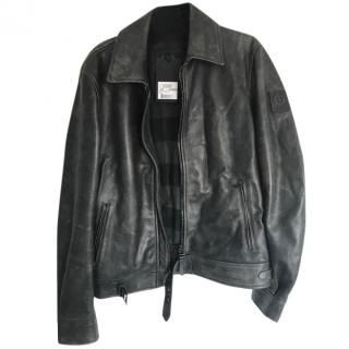 Belstaff Leather Mans Jacket