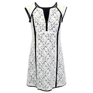 Nanette Lepore White Lace Dress