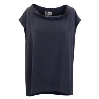 Lanvin Dark Grey Short Sleeved Top