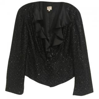 Giorgio Armani stone embellished evening jacket