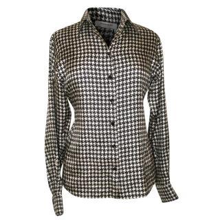 YSL Yves Saint Laurent silk blouse, size 40