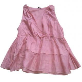 Miu Miu pink top