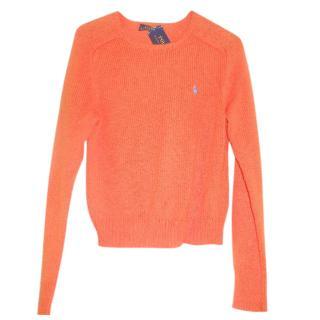 Ralph Lauren orange jumper