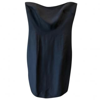 Sportmax Black Corseted Dress