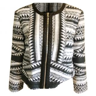 Yiga Azrouel NY Black and white jacket