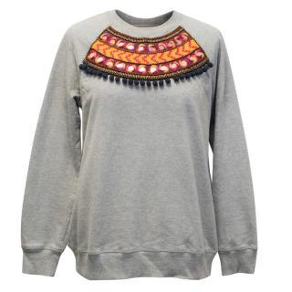 Matthew Williamson Grey Sweatshirt