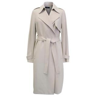 Theory Beige Trench Coat