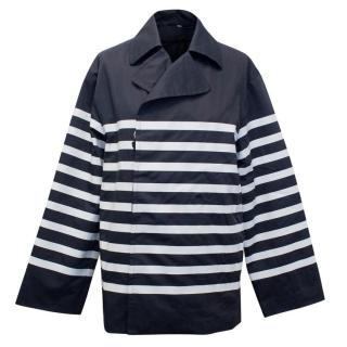 Hogan Striped Peacoat