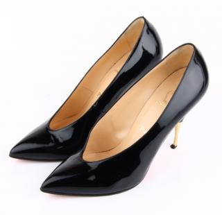 Christian Louboutin Lola Pumps in Black Patent Leather