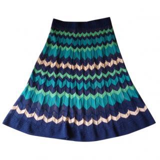 M Missoni Signature Print Skirt