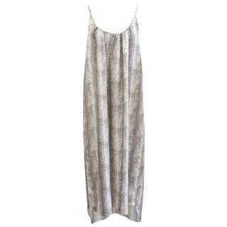 Melissa Odabash Snake Print Strappy Maxi Dress