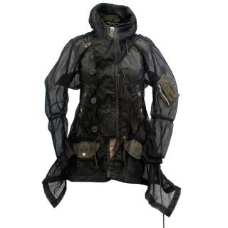 Junya Wantanabe Comme des Garcons Black Mesh Jacket