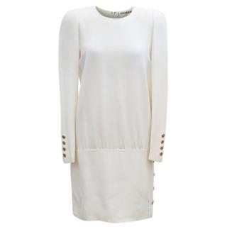 Sonia Rykiel Cream Shift Dress