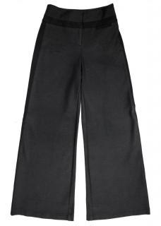 Diane Von Furstenberg Black Wide Leg Trouser