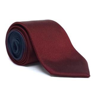 Prada Burgundy Tie
