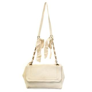 Lanvin Cream Shoulder Bag
