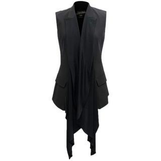 Jean Paul Gaultier Black Waistcoast