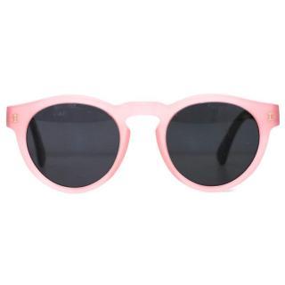Illesteva Leonard Pink Sunglasses