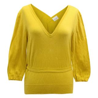 Dries Van Noten Mustard Top