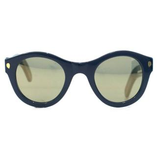 Lucy Folk Sweet N' Low Blue Heaven Sunglasses