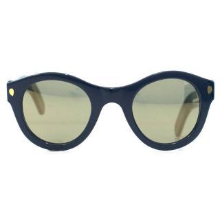Lucy Folk Sweet N' Low Blue Heaven Sunglasses
