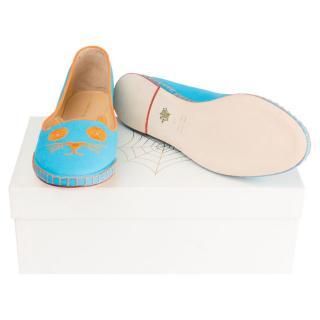 Charlotte Olympia Mexi-Cat slippers
