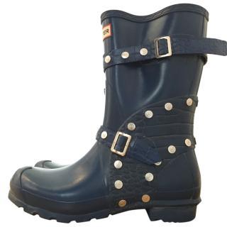 Hunter limited edition short festival boots