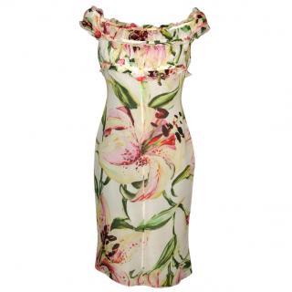 VALENTINO silk dress, size 8