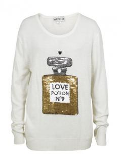 WILD FOX  Couture Love Potion jumper