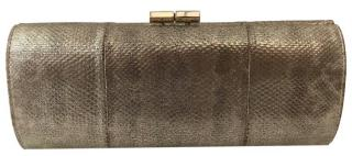 Jimmy Choo Gold Tube Clutch