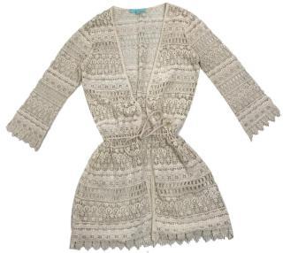 Melissa Odabash Crocheted Lace Coverup