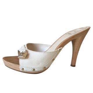 Christian Dior Padlock Clog