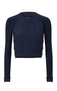 RM by Roland Mouret Jacket Navy Finley Jacket