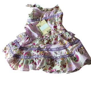 John Galliano childs silk dress age 4