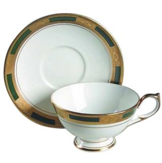 Aynsley Empress Laurel tea cups